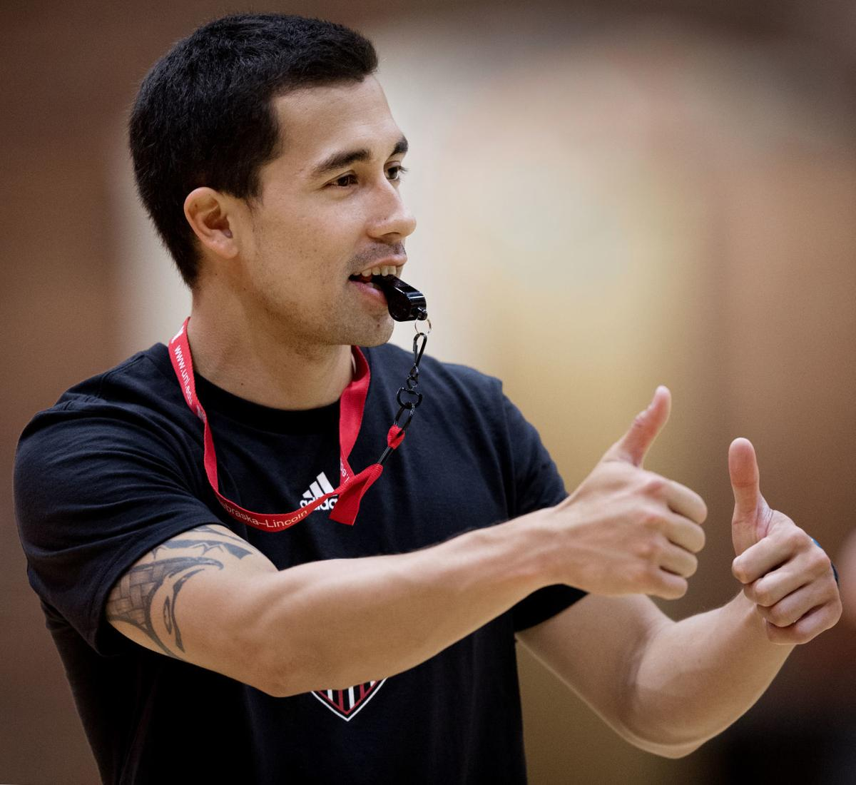 Nebraska volleyball practice, 6/5/18