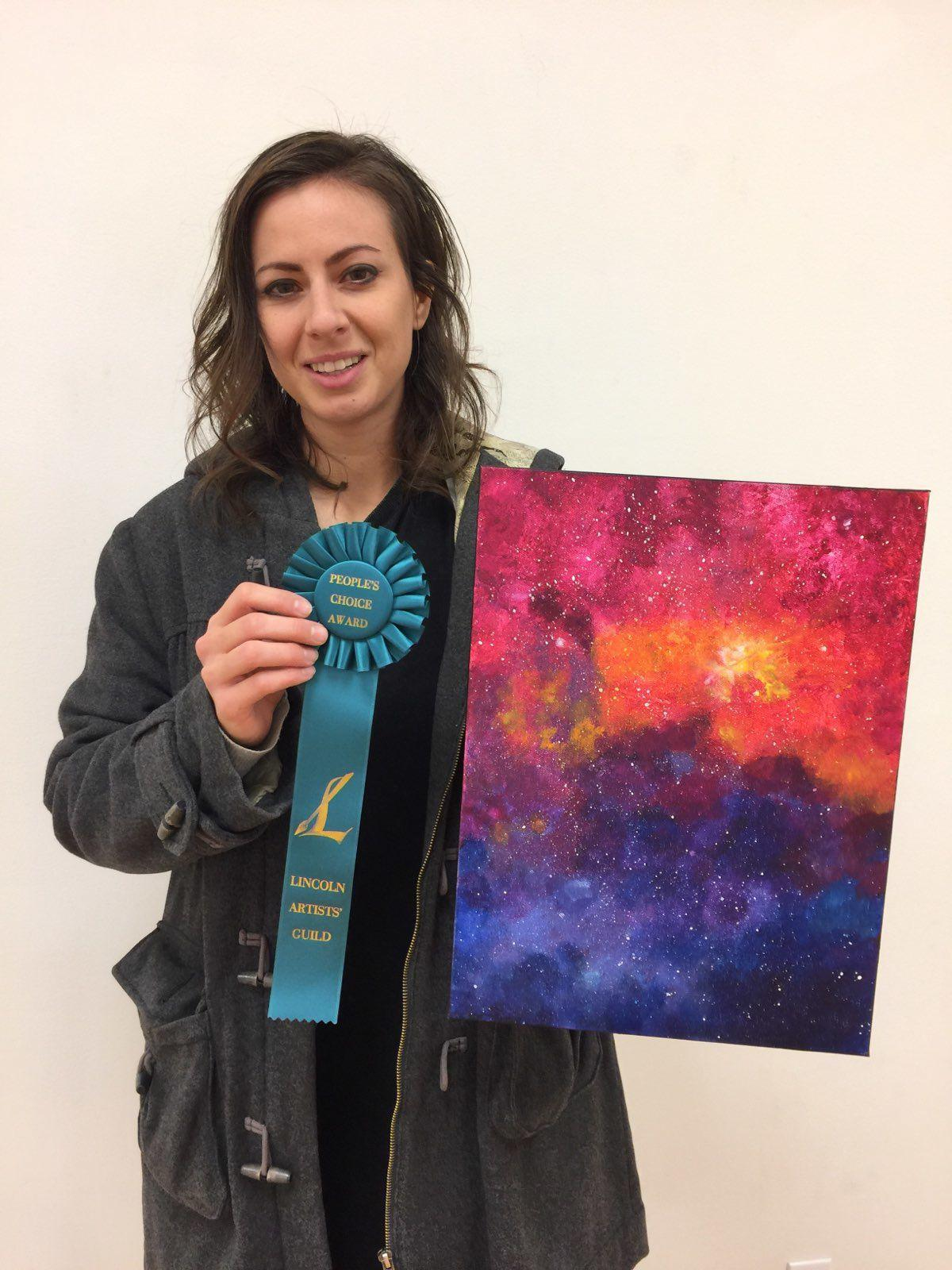 Honorable Mention and Peoples Choice award winner Shawnee Dae Armstrong
