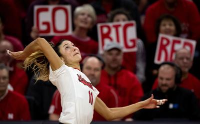 Nebraska volleyball vs. Northwestern, 11.6