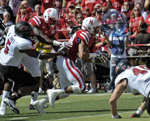 Arkansas State vs. Nebraska, 9.15.2012