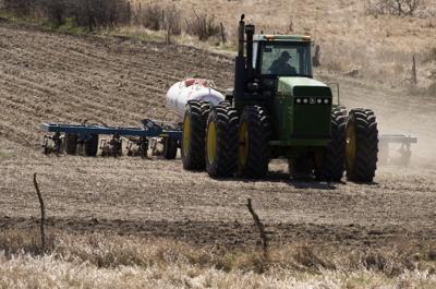 Farm field fertilizer