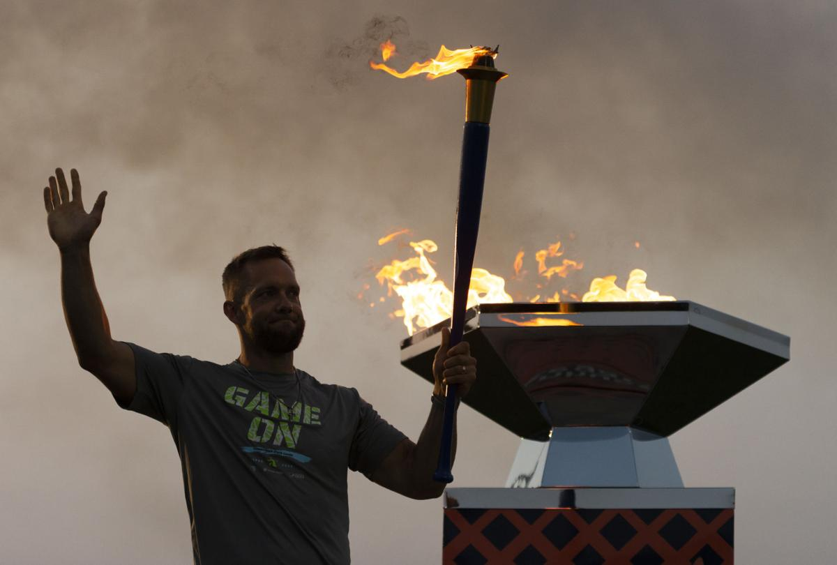 State Games opening ceremonies, 7.16