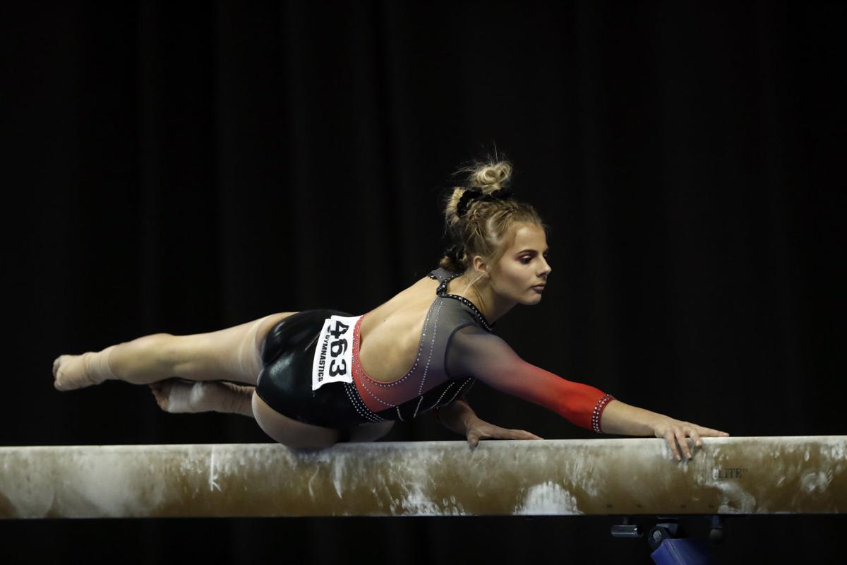 NCAA Womens Gymnastics, 4/21/18