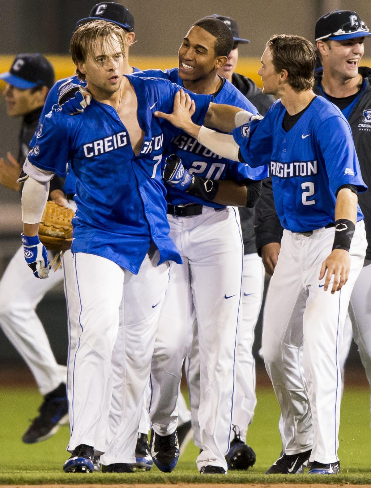 arrives 8914f 6fa4e Creighton walk-off snaps losing streak to Huskers | Baseball ...