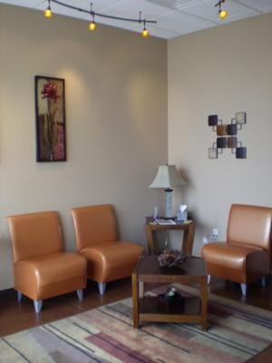Client Seating Area