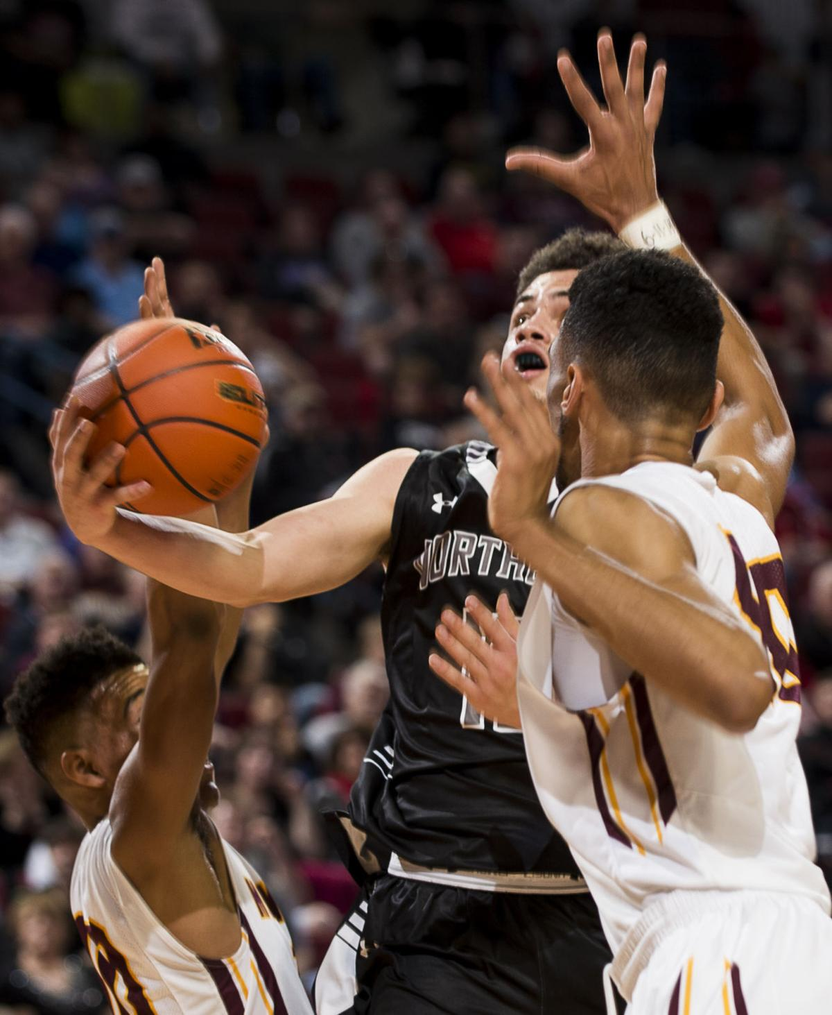 Class A: Monarchs hold off Rockets | Boys state basketball