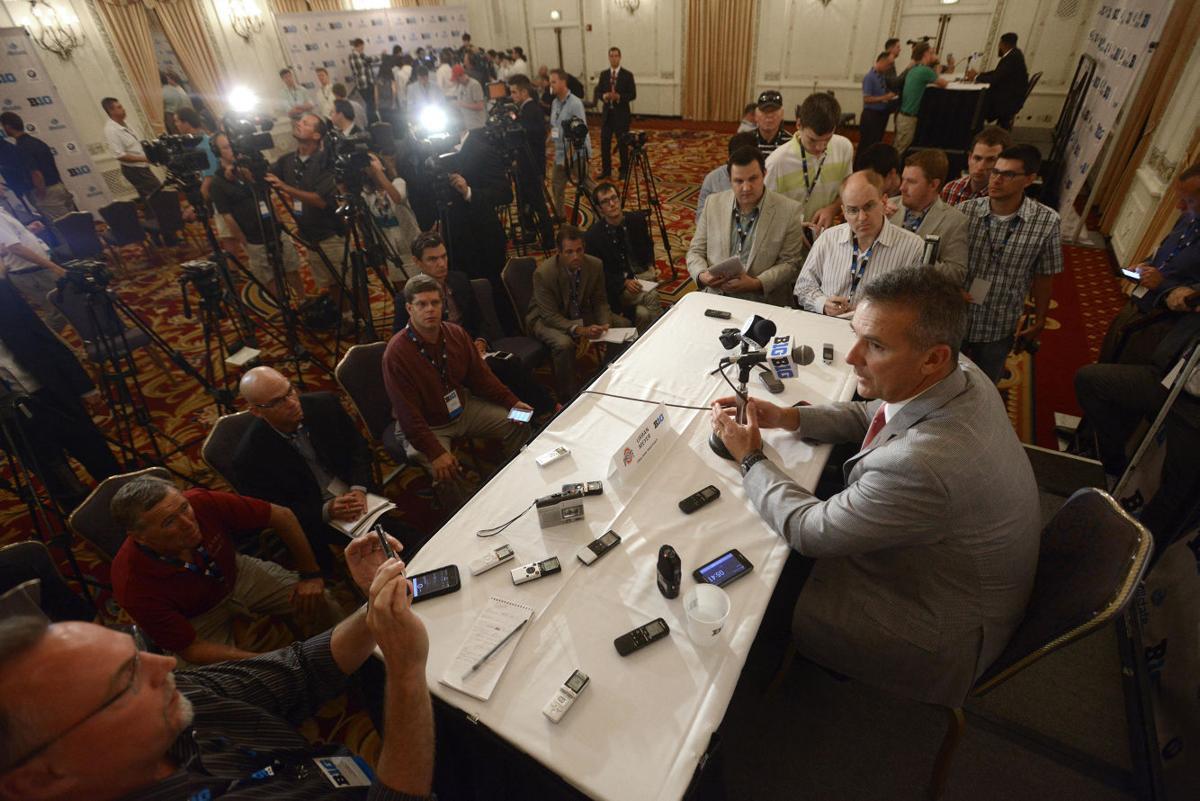Big Ten Media Days Football