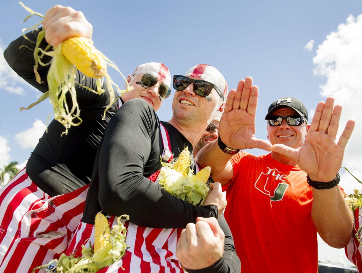 Husker fans in Miami