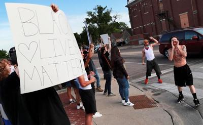 Grand Island protest