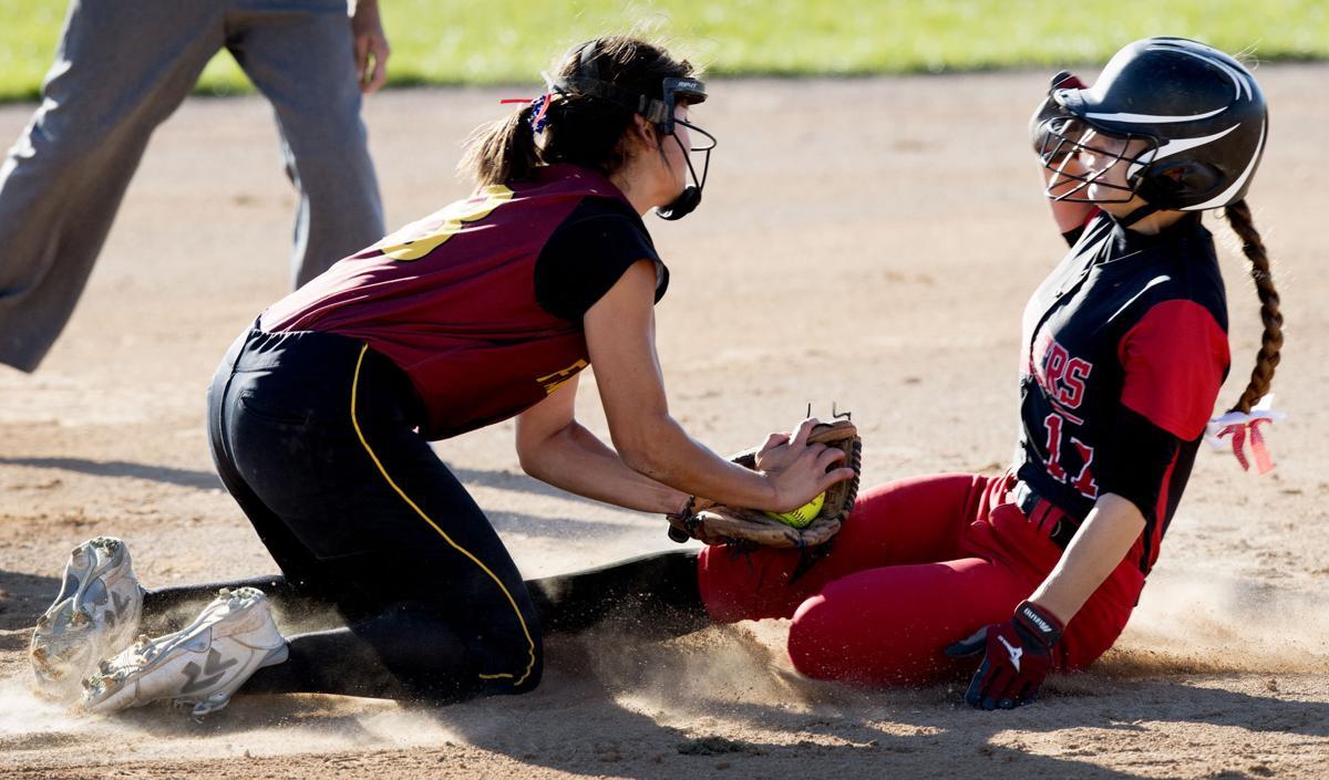 State softball, Fairbury vs. Bishop Neumann, 10/11/17