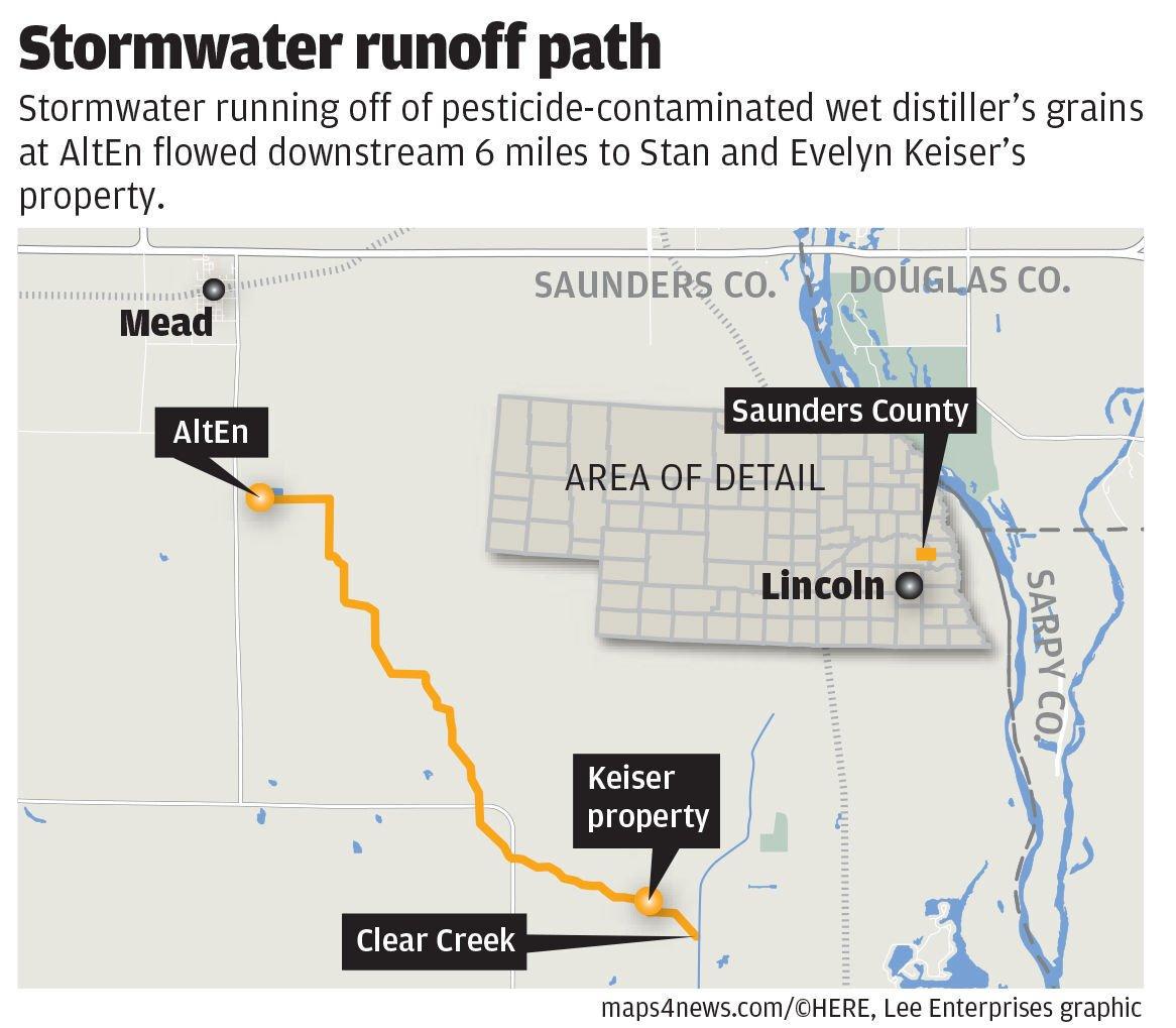 AltEn stormwater runoff map