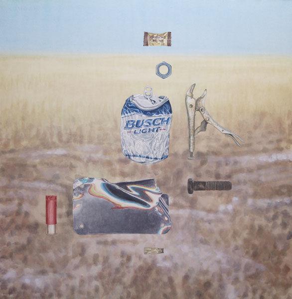 Prairie Metals, ink on paper, 2013