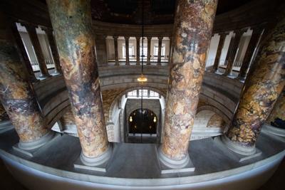 Nebraska State Capitol rotunda