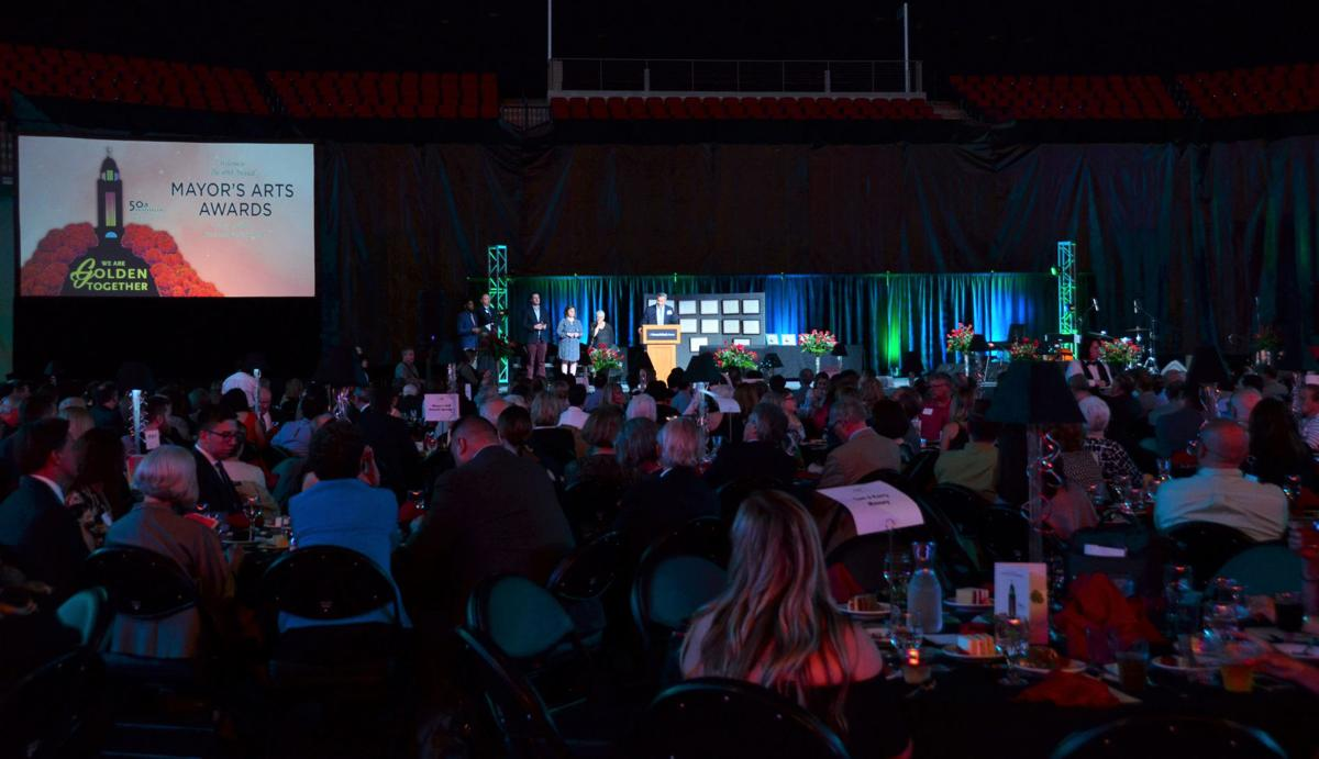 Crowd at the 40th annual Mayor's Arts Awards