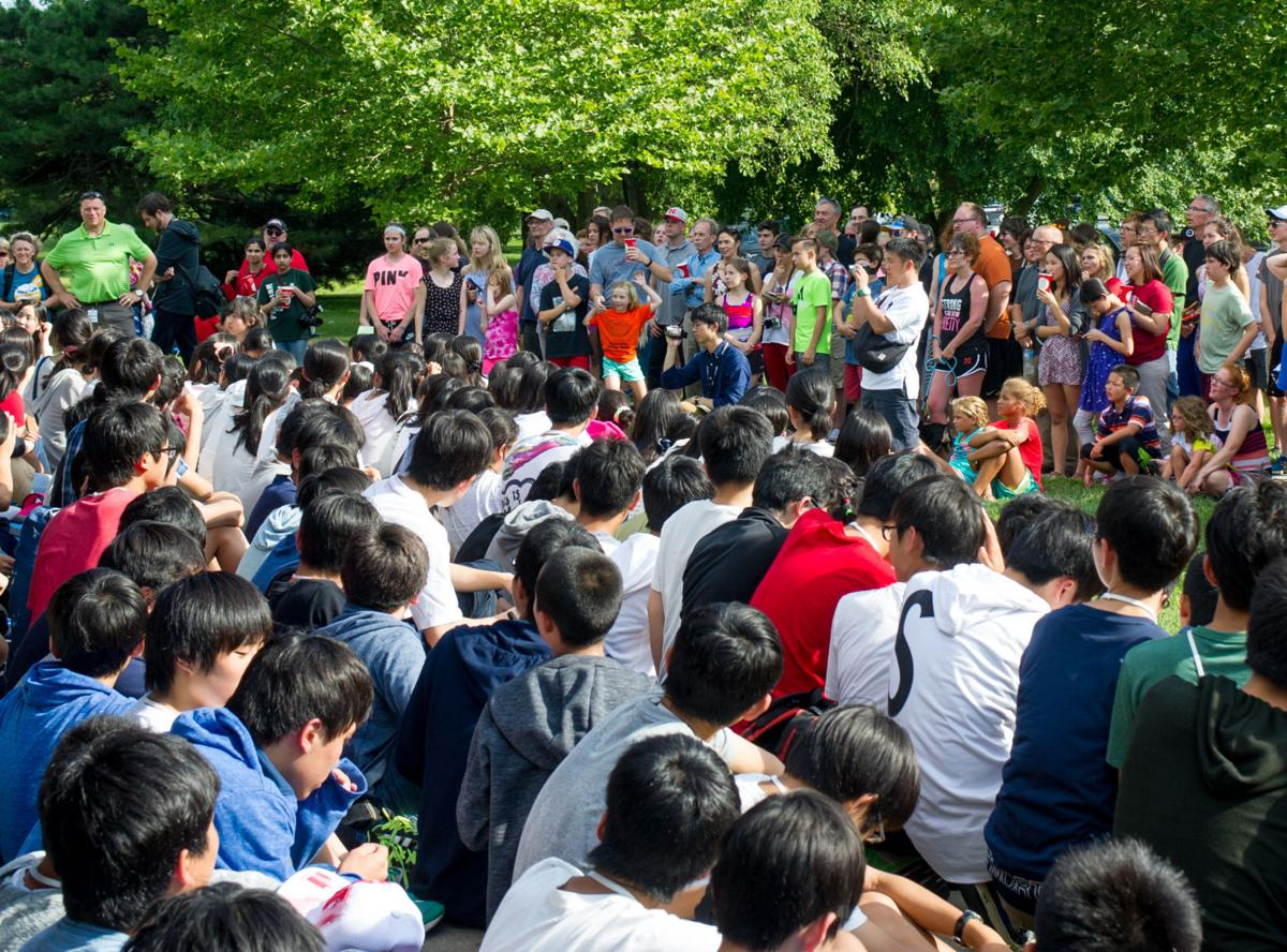 Japanese pen pals become family during stay with Lux Middle