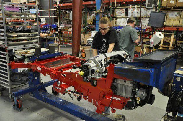 Exmark propane mower 1