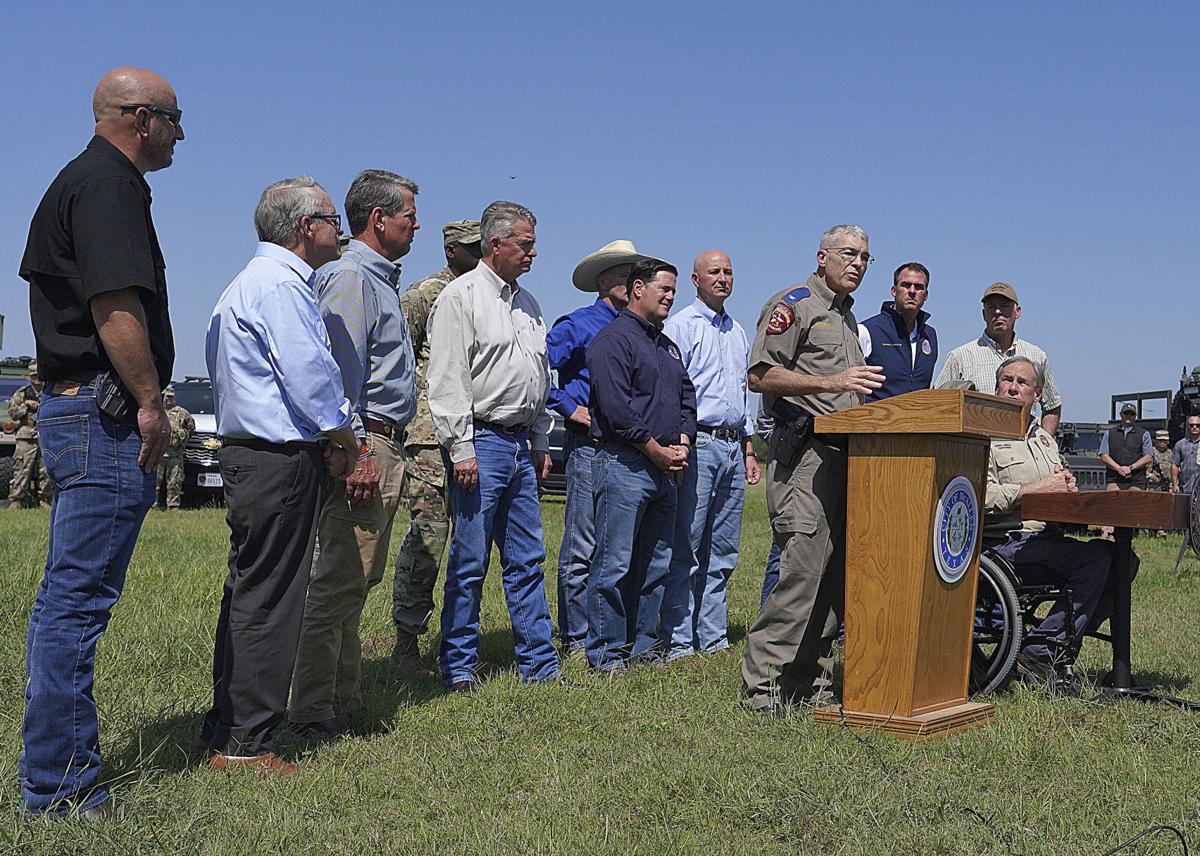Texas Governor Border