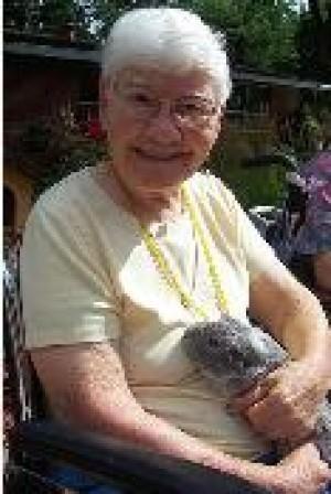 Resident holding animal 2