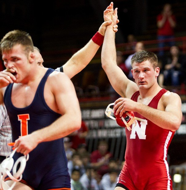 Husker Wrestling Kokesh Eyes Ncaa And Then Burroughs