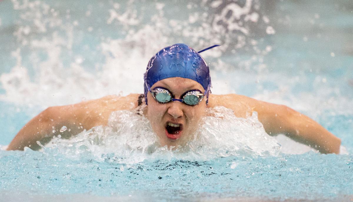 Girls State Swimming Prelims, 2.24.17