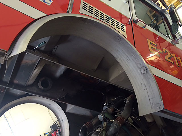 Fire engine corrosion