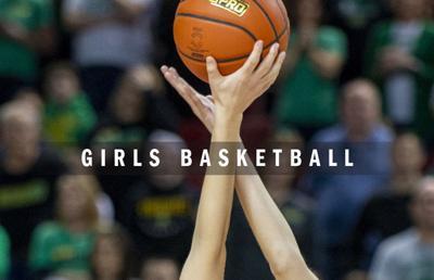 High school girls basketball logo 2