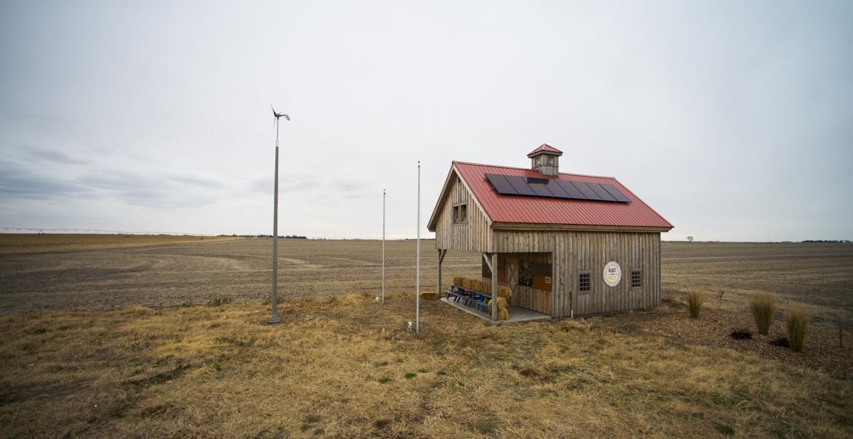 Bold Nebraska barn