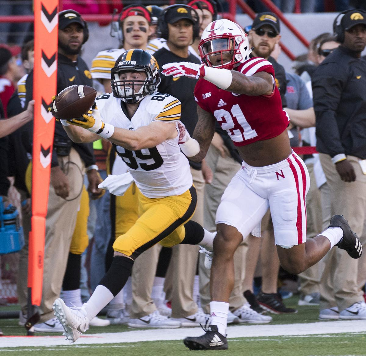 Nebraska vs. Iowa, 11/24/17
