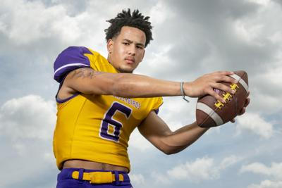 Super-State football: Johnson did a little bit of everything for Bellevue West this fall — and did it all well
