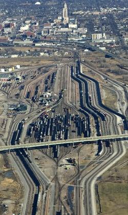 BNSF Railway yards, Lincoln
