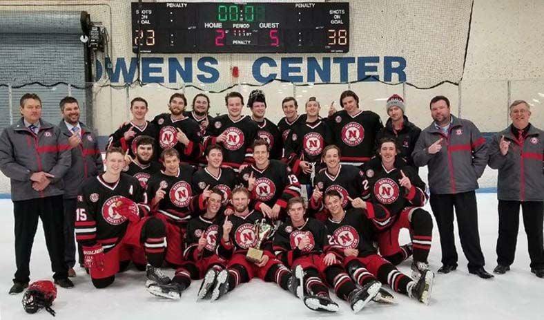 Nebraska hockey team