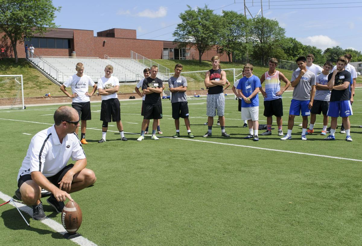 Alex Henery Kicking Camp