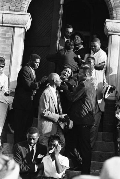 Birmingham Bombing Funeral 1963