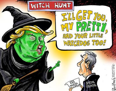 Hands On Wisconsin Donald Trump S Witch Hunt Opinion