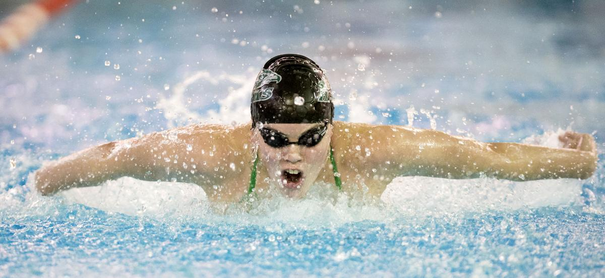 Swimming, Northeast/Southwest/Lincoln High duals, 12/14