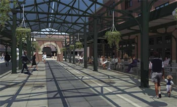 Proposed canopy street