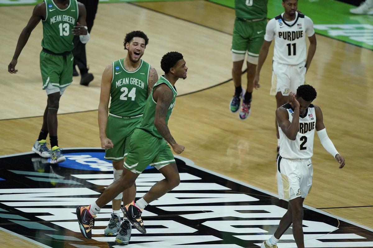 NCAA North Texas Purdue Basketball