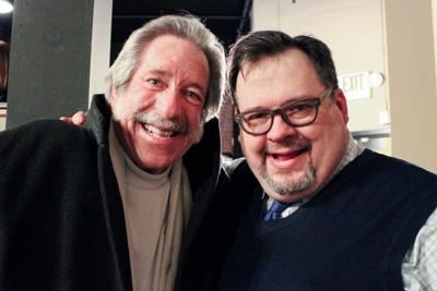 Award Recipient Jim Gordon with TADA Artistic Director Robert D. Rook