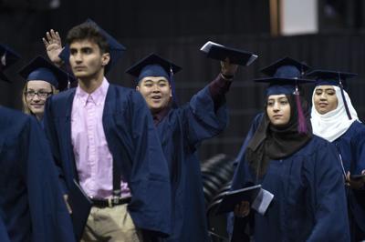 Lincoln North Star High School graduation, 5.26