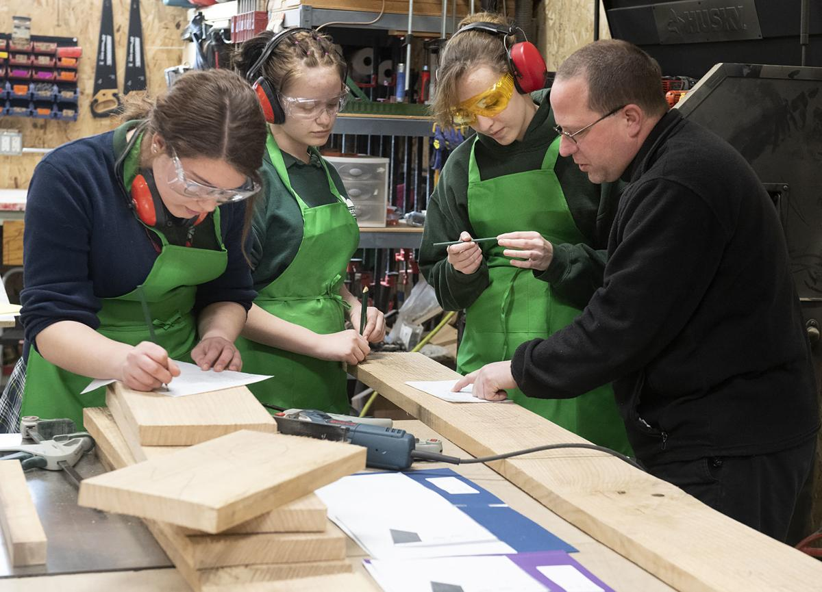 St. Patrick's School woodworking club