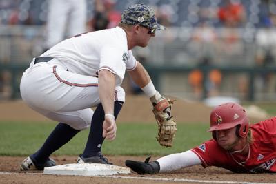 CWS Louisville Auburn Baseball