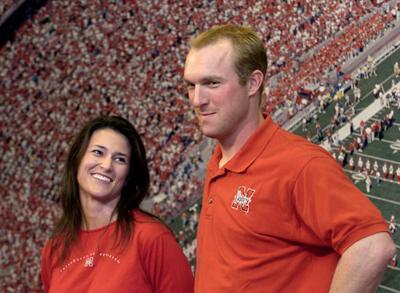 Jessica and Darin Erstad