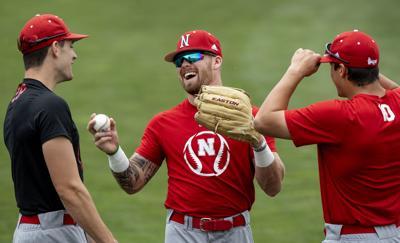 Nebraska baseball fall practice, 9.12