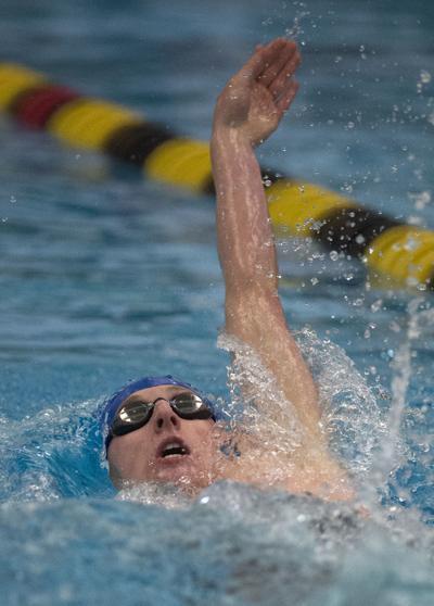Alex Petty-East High swimmer