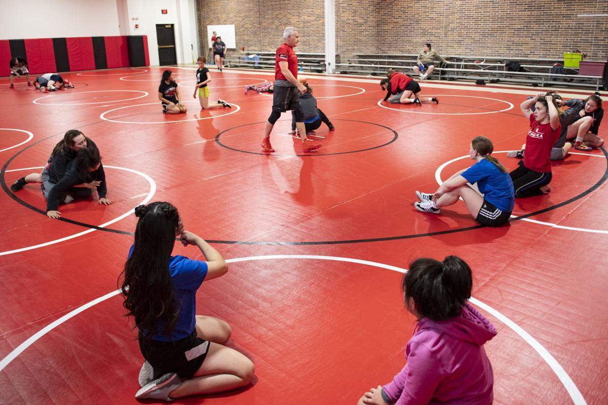 West Point-Beemer girls wrestling, 1.16