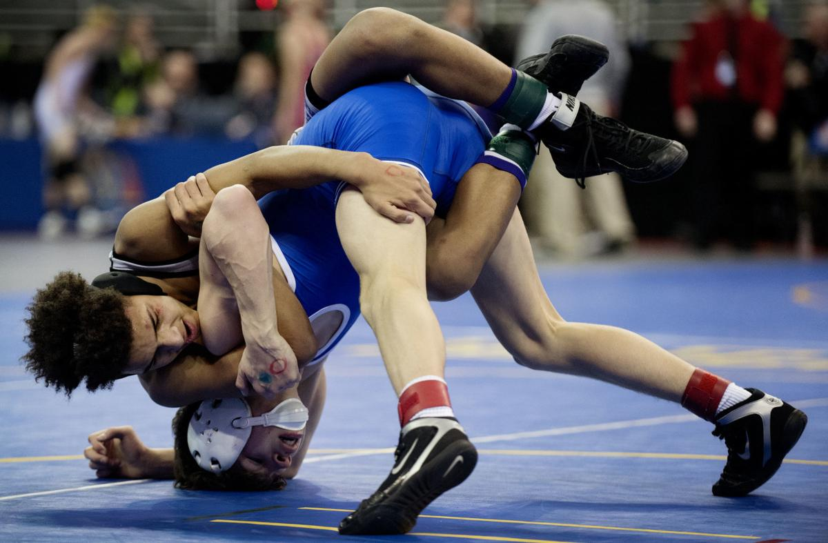 State wrestling semifinals, 2.15