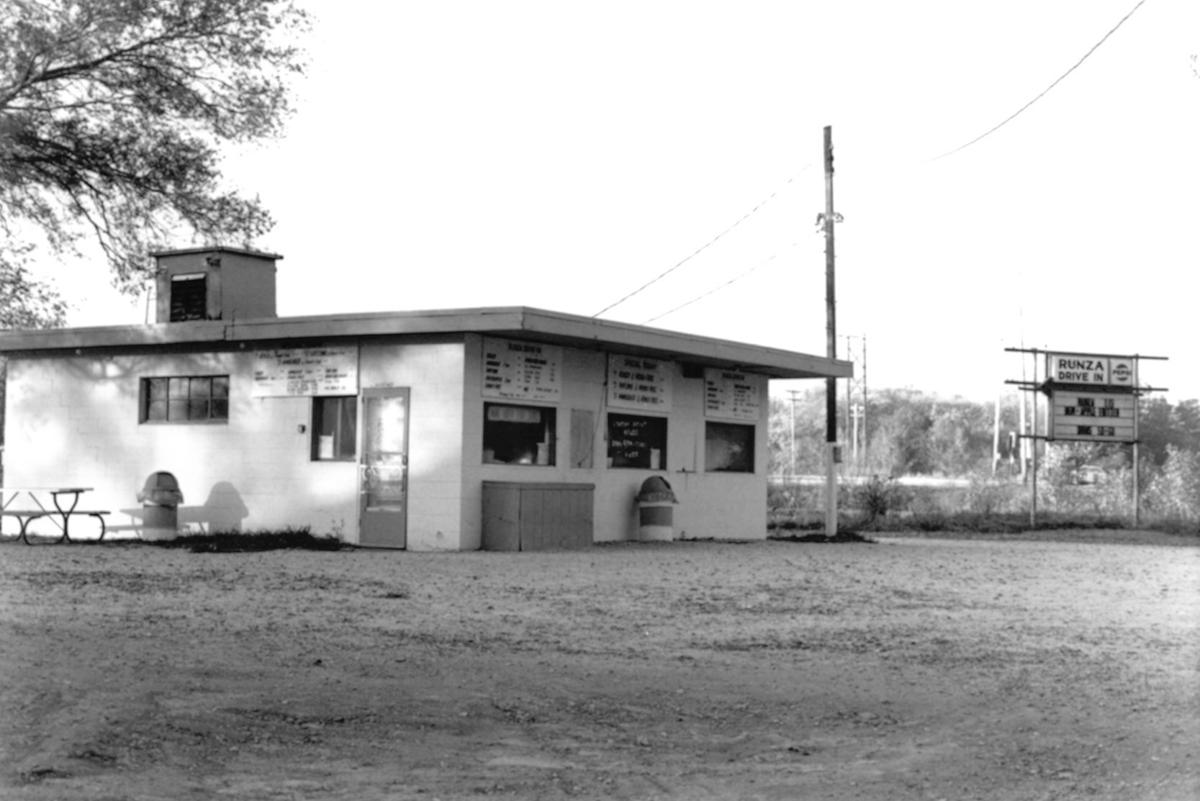 The original Runza drive in resturaunt