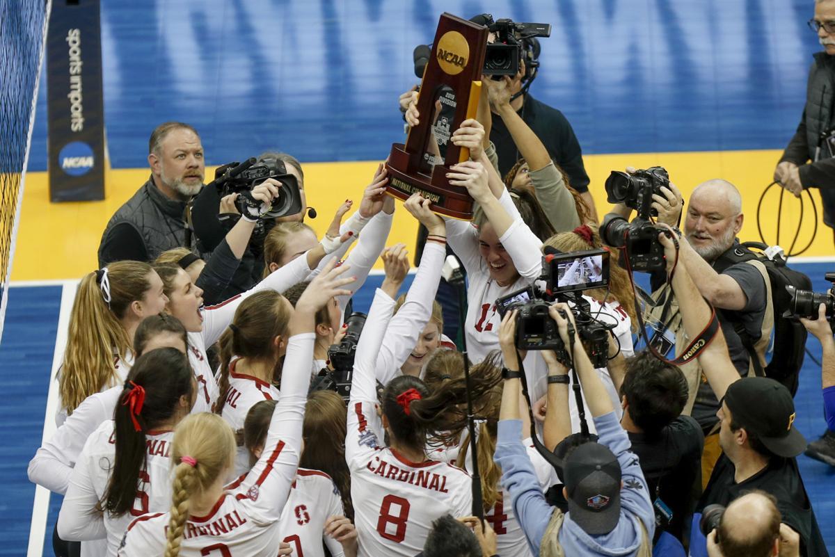APTOPIX NCAA Championship Volleyball