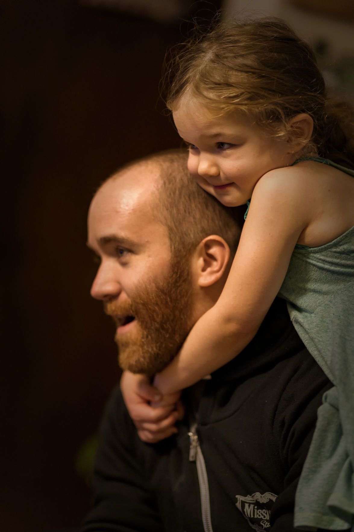'Uncle' (son and granddaughter)