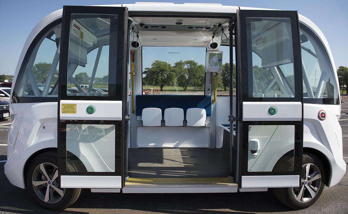 Navya autonomous shuttle